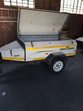 Trailer challenger new tyres plus mags