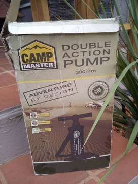 Double action pump