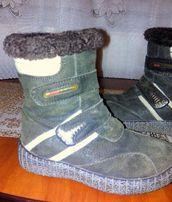 ботинки - сапожки зимние, замшевые, размер 27 B&G.