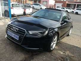 2014 Audi A3 2.0Tfsi S-tronic sedan automatic with a sunroof