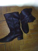 Нові жіночі шкіряні зимові чоботи
