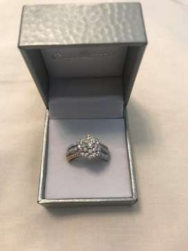 Brand new Genuine Diamond and Gold rings