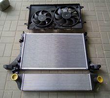 RENAULT MASTER III 2010 - intercooler chłodnica powietrza NOWY