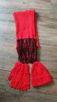 Шерстяная шапка перчатки шарф Marc O'Polo Марко Поло Италия набор