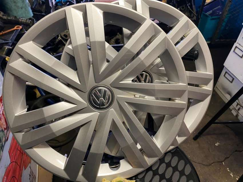 VW POLO HUBCAPS 14in FOR SALE 0