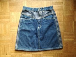 Krótka dżinsowa spódnica Amancio, rozmiar S