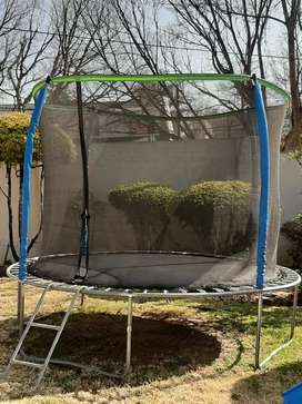 3m Trampoline with safety net