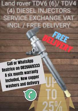 Landrover discovery diesel Injectors for sale
