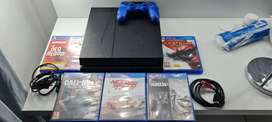 Playstation 4, Controller and 5 Games