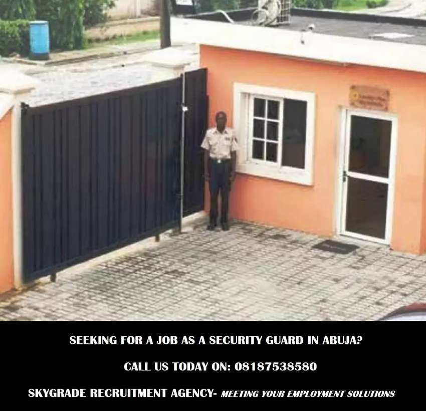 50 Security Guards needed in Abuja 0