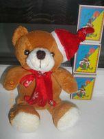 Мягкие игрушки. Медвежонок Новогодний. Новый.