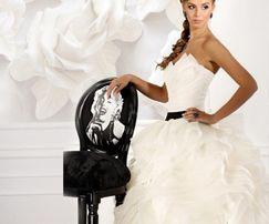 Свадебное платье Душа розы (шёпот розы)