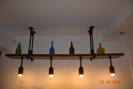 Lampa wisząca rustykalna