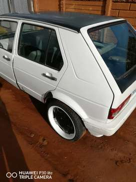 Golf 1 with papers disc is behind with 1 year
