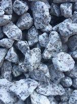 GRANIT GRYS ,biały - kamień granitowy , ozdobny 8-16