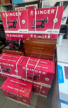 SINGER hand Operated Sewing Machines