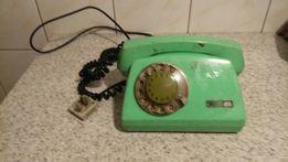 Telefon PRL zielony