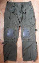 Тактические штаны,брюки с наколенниками олива,одежда,костюм