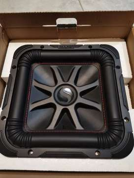 Rockford Fosgate and Kicker Subwoofer combo