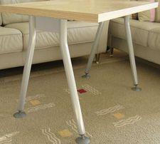 Ножки-опоры для детского столика (сталь + порошк.покрытие)