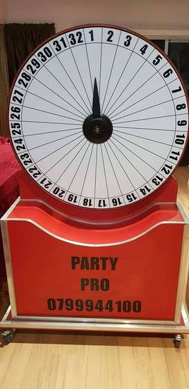 Hire our Jackpot Spinning wheel for your Promotion or Event