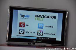 Nowa Nawigacja Samochodowa VORDON 7' Dożywotnio Mapy EU PL GPS TIR AV