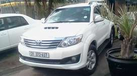 7 seater Toyota fortuner for sale