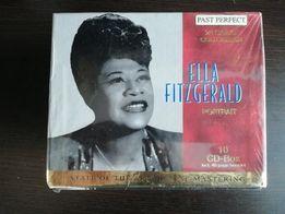 Ella Fitzgerald, Box 10 płyt CD, złota edycja. NOWY