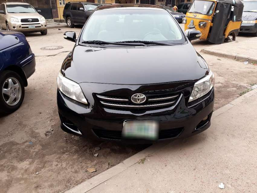 Neatly used Toyota Corolla 2010 model. Good engine and chilling ac. 0