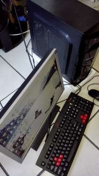 Image of Core i3 Gaming PC for sale in excellent cond. Kbd mouse, cables. R 2,