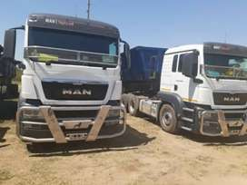 34 TON SIDE TIPPER TRUCKS FOR HIRE IN SOUTH AFRICA.