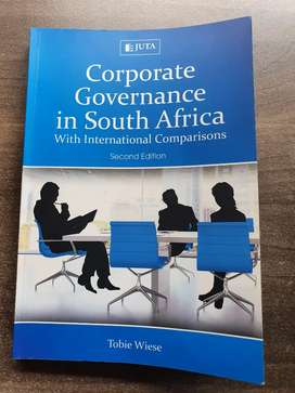 Corporate Governance in South Africa With International Comparisons