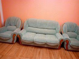 Диван розкладний з кріслами