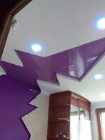 Натяжные потолки, обои, штукатурка,электрика, малярка , гипсокартон