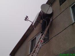 Спутниковые антенны, ремонт и установка, Т2, прошивка ресиверов