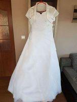 Śliczna suknia ślubna rozmiar 38-42