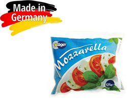 Сыр Моцарелла в рассоле (Mozarella)45%, Германия (Jager)