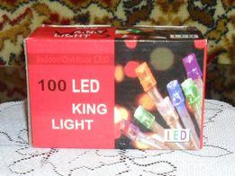 ПРОДАМ светодиодную гирлянду LED на 100 лампочек