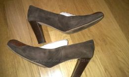 Туфли женские Vera Gomma натуральная кожа производство Италия