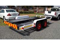 Image of Trailer Skid steer double axle