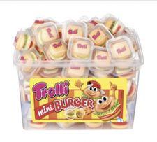 Желейные конфеты Trolli Mini Burger, 600 г