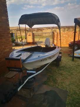 15ft boat with 30hp Johnson motor
