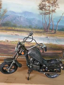 Old toys motorcycle