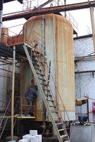 Емкость резервуар цистерна эмалированная 50 м.куб. пищевая/химическая