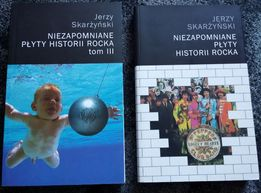 Jerzy Skarżyński Niezapomniane płyty historii rocka - tom I i III