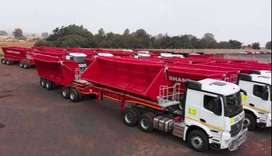 34 ton side tipper truck for rental or hire