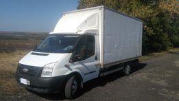 Перевозки,переезды на Ford Transit Super Maxi(мебельная будка-20м³)