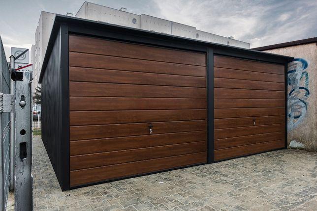 Garaż blaszany 6x6m Grafit |Garaże blaszane| Wzmocniony Raciechowice - image 8