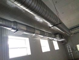 Вентиляция помещений, проект, монтаж