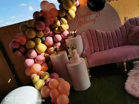 Deco & Balloon Backdrops for hire